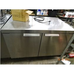 Randell 2-Door 4' Refrigerated S/S Worktop - Tested at 35 deg.