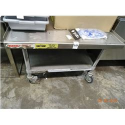 3' S/S Equipment Stand