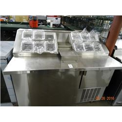 "Norlake 54"" Freezer Topping Station - Tested at -5 deg."