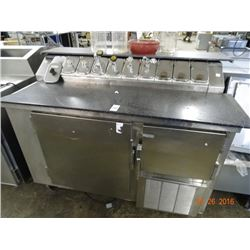 Commercial Frozen Topping Unit - Tested to 30deg