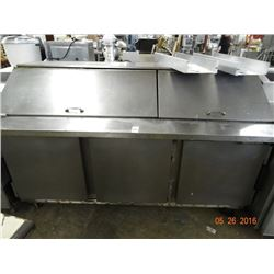 Bev-Air 6' Refrigerated Sandwich Prep Tested to 58deg
