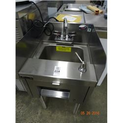 Perlick S/S Glass Cleaning Sink