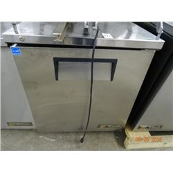 "True 27 1/2"" S/S Refrigerated Worktop Tested to 33deg"