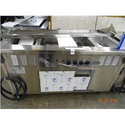 Delfield 5' SH-4 4-Comp Electric Steam Table