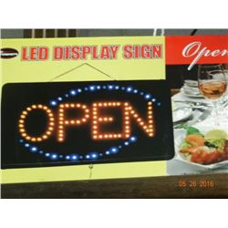 Led Open Sign - No Shipping