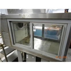 Refrigerated Countertop Pastry Case Tested to 37deg