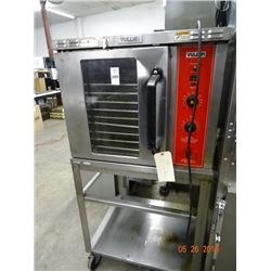 Vulcan Gas 1/2 Size Convection Oven On Stand - Door Handle Dent