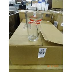 Case of Pilsner Glasses