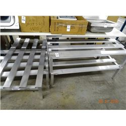 Aluminum 4' Dunnage Racks - 10 Times the Money