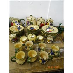 Lot of Home Trends Painted China - No Shipping