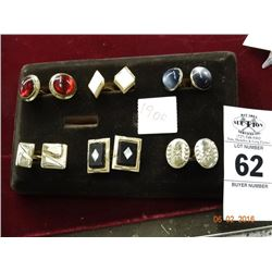 6 Pair of Cuff Links - 6 Times the Money