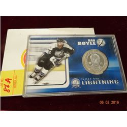 Los Angeles Bicentennial Birthday Dollars & Dan Boyle Coin