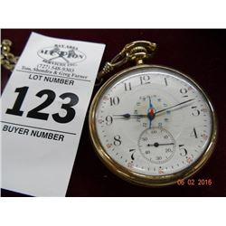 Elgin Pocket Watch - Runs & Stops