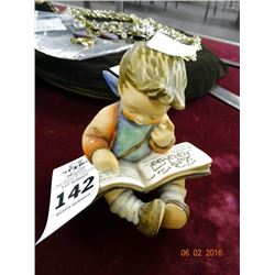 "Hummel Figure ""Boy Reading Book"""