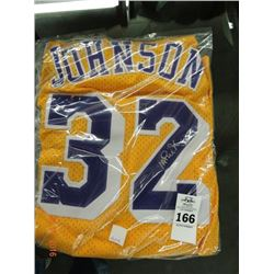 Autographed Magic Johnson Jersey