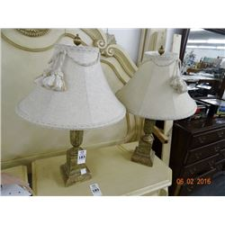 2 Table Lamps - 2 Times the Money