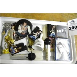 Elvis Tray of Lighters