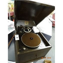 His Masters Voice # 4 Gramophone