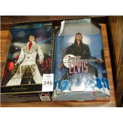 2 Elvis Collectible Dolls - 2 Times the Money