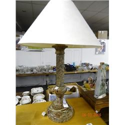 Albaster Onyx Marble Lamp (Jim Tirrenia Italy)  - No Shipping