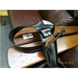 Leather Gun Belts w/Holsters