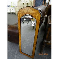 Burl Trim Mirror