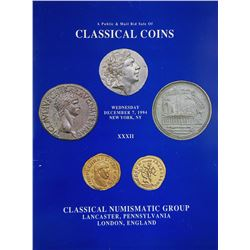 Classical Numismatic Group: The First 100 Sales