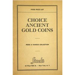 Rare 1942 Stack's Fixed Price List of Ancient Gold Coins with Photographic Plates
