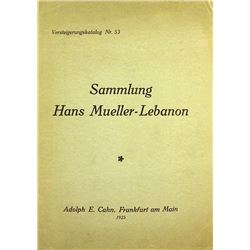 The Mueller-Lebanon Sale of Renaissance and Later Medals
