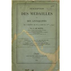 1856 J. de Witte Sale of Ancient Greek Coins