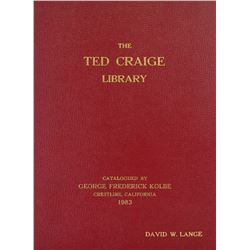 Leatherbound Ted Craige Library Sale