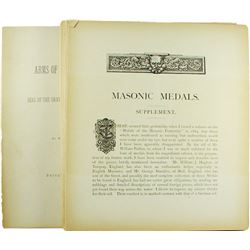 Supplement to Marvin's Work on Masonic Medals