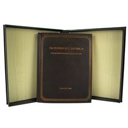 The Deluxe Leatherbound 1996 Robinson S. Brown Sale, One of Five Issued
