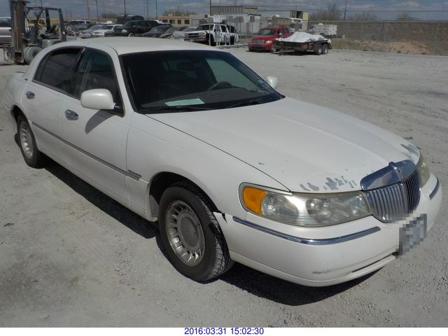 2001 - LINCOLN TOWN CAR / REBUILT SALVAGE / BONDED TITLE ...