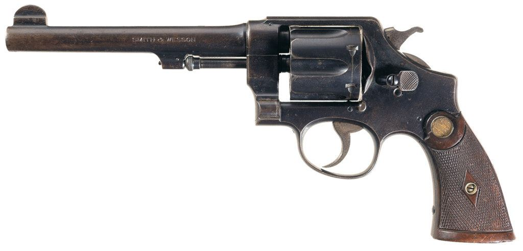 smith wesson second model 44 hand ejector double action. Black Bedroom Furniture Sets. Home Design Ideas