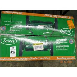 Scotts Push Reel Mower - Returned