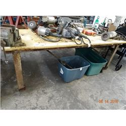 Metal 4 x 8 Rolling Table
