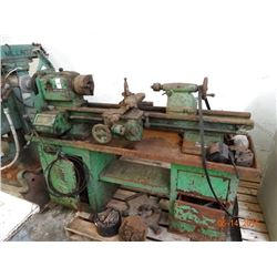 Clausing # 6339 Lathe w/Tooling - Rusty