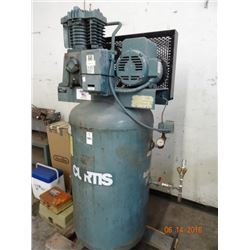 Curtis #5EZVT8-AZ Air Compressor - Condition Unknown