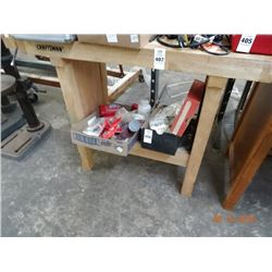 Wood Work Bench w/Vise