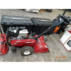 Craftsman Gas Powered Tiller