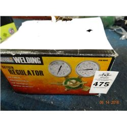 Oxygen Regulator Gauge