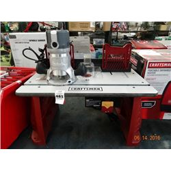 Craftsman Router Table w/Router