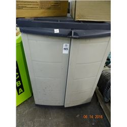 Workforce 2 Door Rolling Cabinet