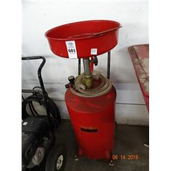 Oil Lift Drain 20 Gallon