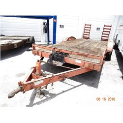 Emerson Hammerhead 7' x 21' T/A Dovetailed Equip. Trlr w/Ramps & Winch
