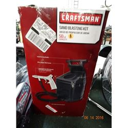 Craftsman Sand Blasting Kit
