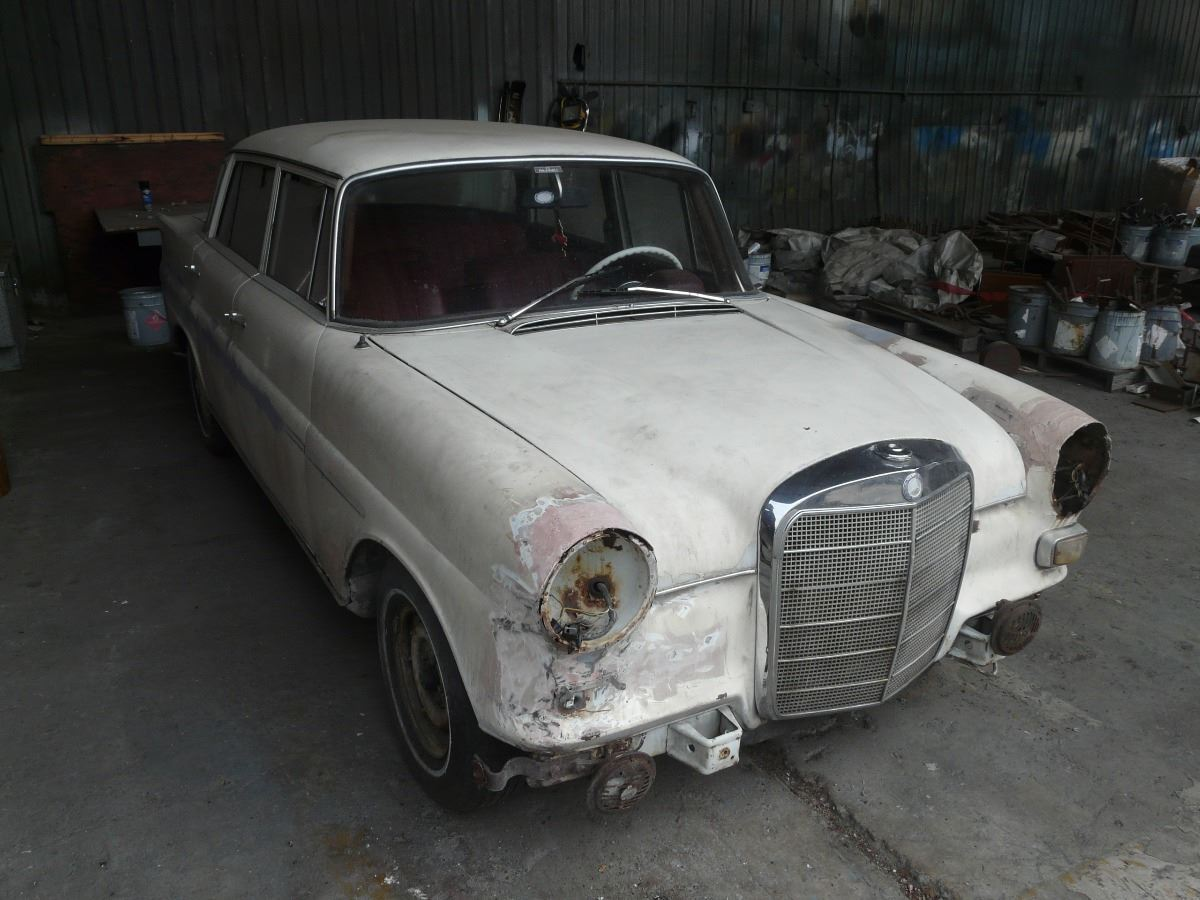 1980 mercedes benz 230 runs with original parts for for Mercedes benz performance parts