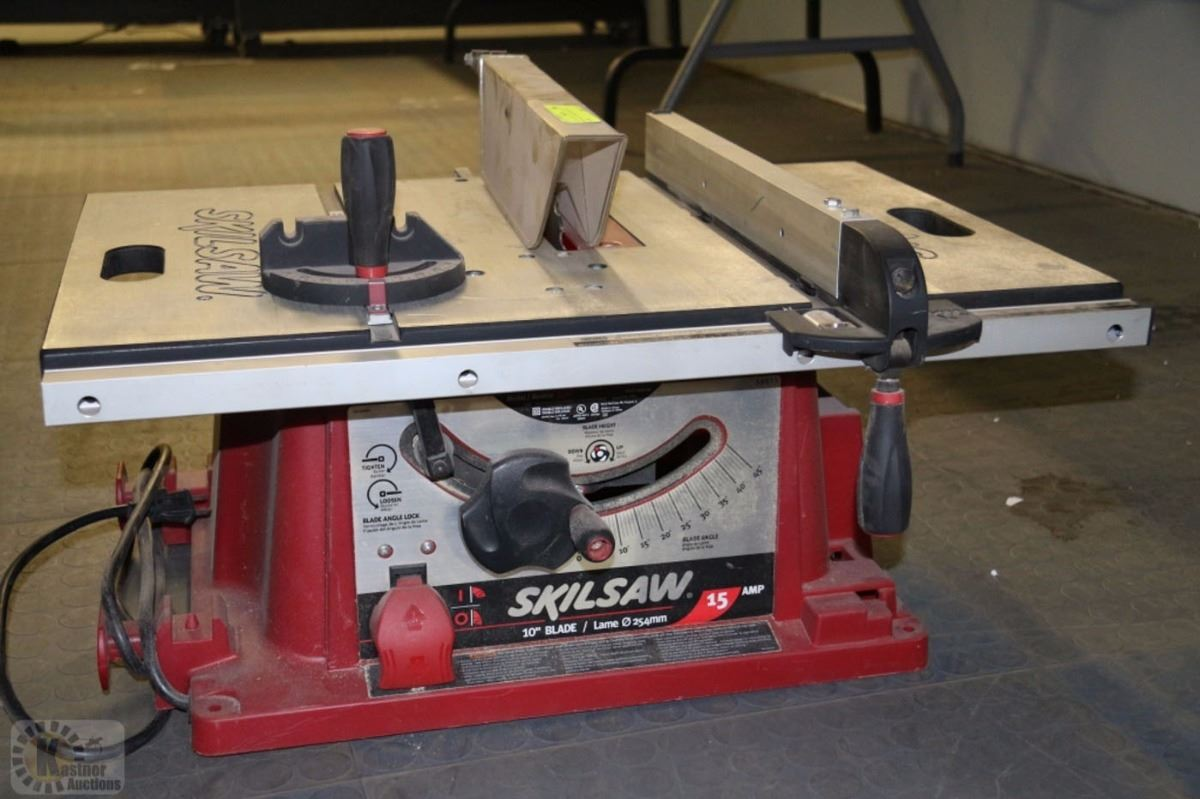 Skilsaw 10 Table Saw With Blade Kastner Auctions