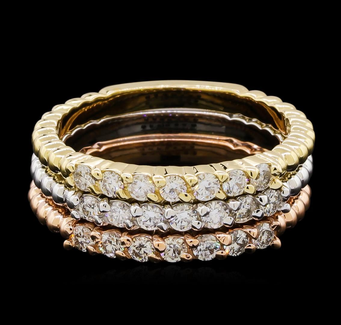 065ctw Diamond Ring Set  14kt Tri Color Gold. Roman Numeral Bracelet. Where To Buy Mens Wedding Band. 1 Carat Eternity Band. Yellow Sapphire Gemstone. Gold Diamond Watches. French Engagement Rings. Simple Gold Jewellery. Beaded Bangle Bracelet
